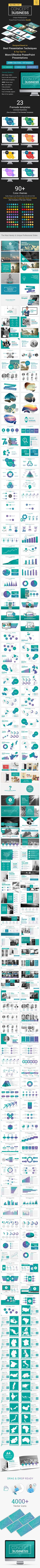 Professional and clean PowerPoint presentation Bundle that designed based on Best Presentation techniques and top tips for more effective PowerPoint presentations.  Concept Bundle gives you unlimited possibilities to make your creative presentation in very short time.