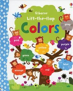With over 60 flaps to lift, this delightful book helps children learn about colors in a fun way. There are naming, matching and counting activities, and there's plenty fo pre-readers to talk about too. #childrensbooks