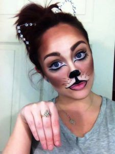 Fox Halloween Makeup!