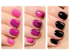 What! Mood (aka temp) gel nail polish - that is kinda cool! The Nail Polish That Changes with Your Temperature