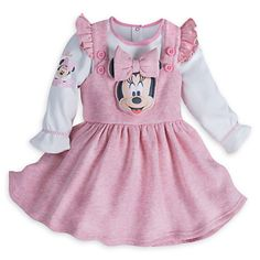 Minnie Mouse Layette Pinafore Set for Baby | Disney Store