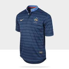 2012/13 French Football Federation Replica Boys' Soccer Jersey