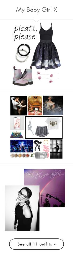 """""""My Baby Girl X"""" by xonfident ❤ liked on Polyvore featuring Dr. Martens, BasicGrey, Lokai, art, 100% Pure, Christian Dior, Bobbi Brown Cosmetics, MAC Cosmetics, Witchery and Puma"""