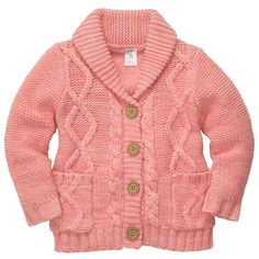 Sweater Cardigan | Toddler Girl Tops
