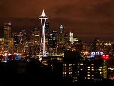 One of my favorite places to visit! Seattle!!