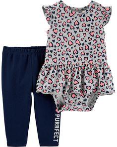 NEW Carter/'s Flamingo Strawberry Jacket Pants Set Baby Girls 9 12 18 months NWT