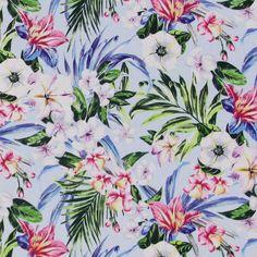 Katoenen stof bloemen per meter bij stoffen.net. Grote keus in onze online shop / webwinkel. Katoenen stof bloemen per meter voordelig online bestellen / kopen.