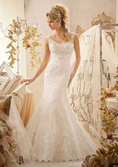 Mori Lee - 2601 - All Dressed Up, Bridal Gown