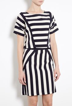 Scooter Stripe T-Shirt Dress by Marc By Marc Jacobs