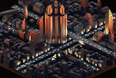 Ознакомьтесь с этим проектом @Behance: «Capstone City» https://www.behance.net/gallery/33563709/Capstone-City