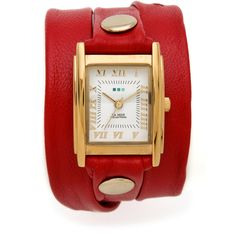 La Mer Collections Simple Wrap Watch ($62) ❤ liked on Polyvore