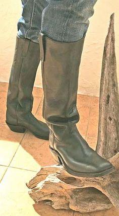 Details zu Damenschuhe Kniehohe Stiefel Lederstiefel Reiter Cowboy Hinten Reißverschluss 45