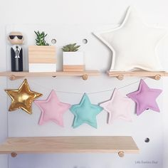 Heading off to the post office with this Star Garland today!  And my new timber planters from timber and co arrived last week, succulents added and voila! Sitting perfectly in my workspace