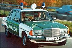 Da war die Polizei noch mit Stil unterwegs ...