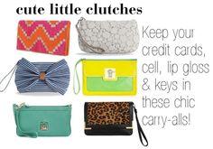 cute little clutches