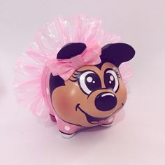 Minnie Mouse, Disney Characters, Pictures To Paint, Draw, Painted Flower Pots, Piglets, Mud, Unicorn