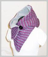 Kapuzenschal - Strickstoff mit Fleece - StoffAkzente Taschen und Accessoires