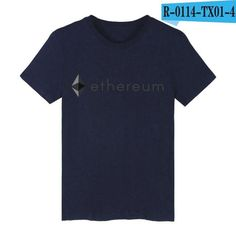 Mens Ethereum TShirt, more colors available