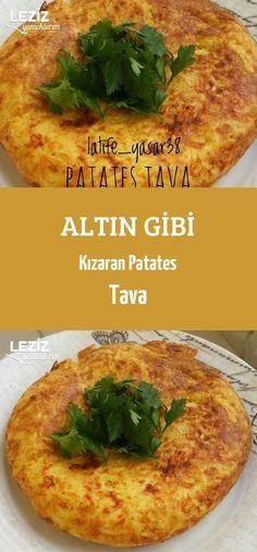 Altın Gibi Kızaran Patates Tava