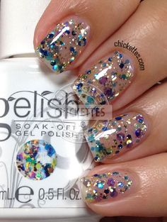 Gelish Trends - Rays of Light - Summer 2014