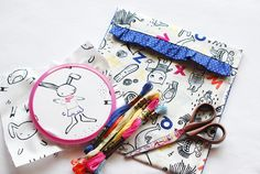 Embroidery Projects with Wild Olive & Wee Gallery! | Dear Stella Design