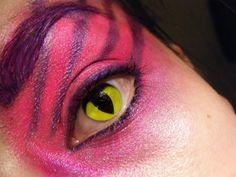 Trendy eye cat makeup halloween make up ideas Cheshire Cat Halloween Costume, Halloween Make Up, Halloween Costumes, Halloween Ideas, Cheshire Cat Cosplay, Halloween 2019, Halloween Crafts, Halloween Party, Cheshire Cat Makeup