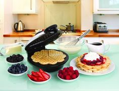 An heart-shaped waffle iron for whipping up a romantic brunch spread. | 23 Valentine's Gifts For Anyone Who Loves Food More Than People