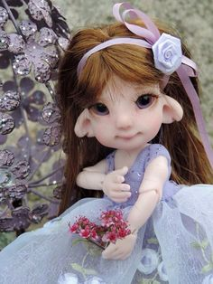 Lilac ShooHoo LilliBelle by Bbflockling...customized by Charlene Smith