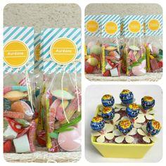 Scrap Plaisir: ** Sachets de bonbons et déco de table pour l'anniversaire de ma fille **