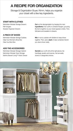 Closet On Pinterest Reach In Closet Martha Stewart And
