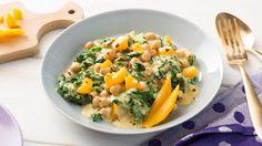 Kichererbsen-Curry Rezept - Rama Cremefine