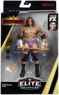 Mattel WWE Basic Series 83 Triple H HHH Card not mint