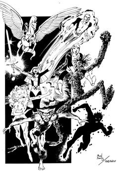 Alan Davis - The New Mutants