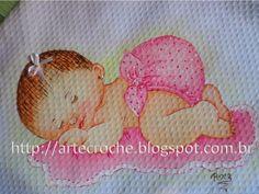 Tudo sobre Crochê e Pinturas em Tecidos