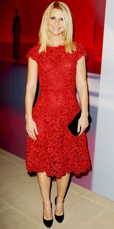 Claire Danes  in Kara Ackerman Designs, Melinda Maria Jewelry, Valentino