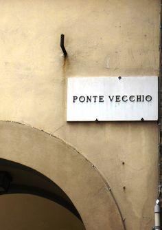 I've crossed the Ponte Vecchio bridge many times always admiring the beautiful Italian jewelry in the merchant windows. Florence, Italy.