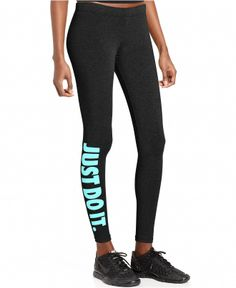 Nike Skinny Logo Active Leggings - Pants  amp  Capris - Women - Macy s  Adidas Shoes 3ca83a25e450