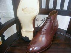 KOKON HandMade「Limoges」モカブラウン #gloucesterroad #KOKON #shoes #yokohama