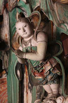 Shuanglin Temple clay statues, China Shanxi Pingyao