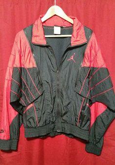 d23c59f43c569 Rare nike air jordan flight shoes zip convertible windbreaker jacket vest vtg  og