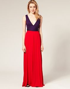 Pictures of color blocking dresses at nordstrom