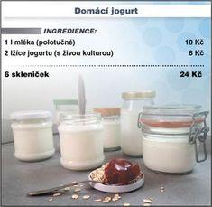 Levně a chutně s Ladislavem Hruškou - Domácí jogurt