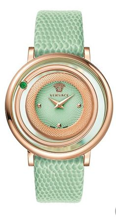 #Versace Luxury watch in Mint - #LuxurydotCom