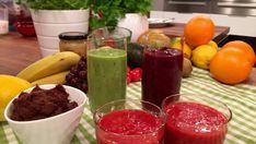 NORDSTRANDS FAVORITTER: Søtt og godt uten sukker med syltetøy og smoothies. Foto: TV 2 Kiwi, Sugar Free, Watermelon, Smoothies, Food And Drink, Pudding, Fruit, Health, Desserts