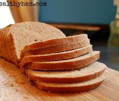 100% Whole Wheat sandwich bread! No sugar, no bread machine! The recipe I have been waiting for!