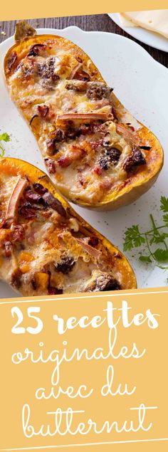 Discover our 25 recipes that change with butternut Fancy Dinner Recipes, Winter Dinner Recipes, Fall Recipes, Veggie Recipes, Vegetarian Recipes, Cooking Recipes, Healthy Recipes, Winter Food, Food And Drink