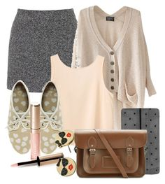 Caroline Inspired Outfit by fangsandfashion on Polyvore featuring polyvore fashion style Chicnova Fashion Monki Topshop Kate Spade ASOS The Cambridge Satchel Company By Terry clothing casual vampirediaries carolineforbes Caroline