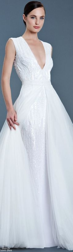 The Kaia blush wedding gown by J. Mendel for Preorder on Moda ...