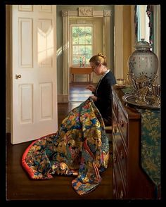Evan Wilson, contemporary American realist painter