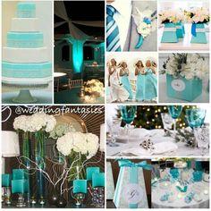 teal wedding